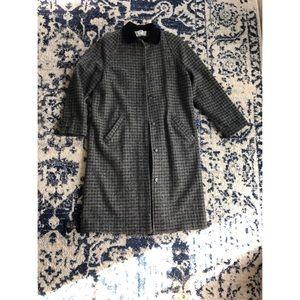 Women's L.L. Bean Wool Coat - Size Regular
